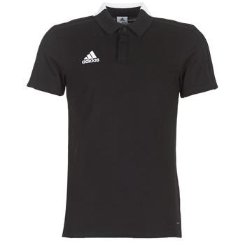 Oblačila Moški Polo majice kratki rokavi adidas Originals CON18 CO POLO Črna