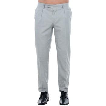 Oblačila Moški Elegantne hlače Jack & Jones 12120554 JPRISAC TROUSER LIGHT GREY MELANGE Gris claro