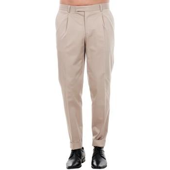 Oblačila Moški Elegantne hlače Jack & Jones 12120552 JPRBONO TROUSER STRING Beige
