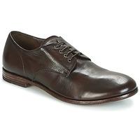 Čevlji  Moški Čevlji Derby Moma BUFFALO-TESTA-DI-MORO Kostanjeva