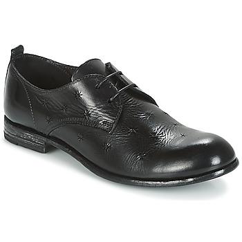 Čevlji  Ženske Čevlji Derby Moma CROSS-NERO Črna