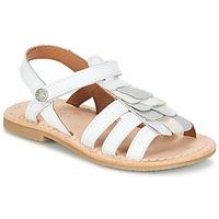 Čevlji  Deklice Sandali & Odprti čevlji Aster CORELLE Bela
