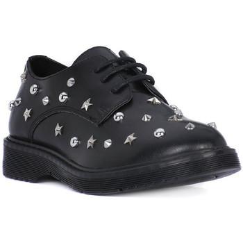 Čevlji  Deklice Čevlji Derby Cult ROSE LOW 626 Nero