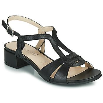 Čevlji  Ženske Sandali & Odprti čevlji Caprice SATIBO Črna
