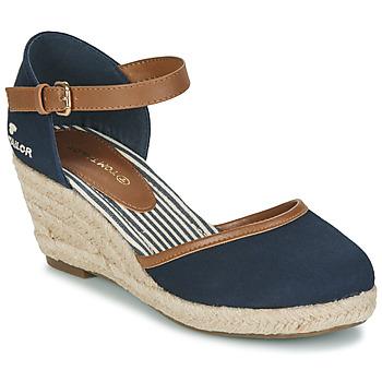 Čevlji  Ženske Sandali & Odprti čevlji Tom Tailor ESKIM Modra