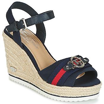 Čevlji  Ženske Sandali & Odprti čevlji Tom Tailor CRYSTYA Modra