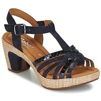 Čevlji  Ženske Sandali & Odprti čevlji Gabor MASTIAR Modra
