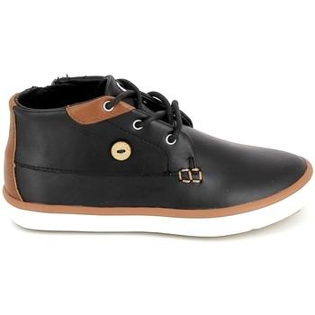 Čevlji  Otroci Visoke superge Faguo Wattle Leather BB Noir Črna