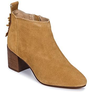 Čevlji  Ženske Gležnjarji Esprit CANDY BOOTIE Kamel