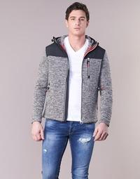Oblačila Moški Puloverji Superdry STORM MOUNTAIN ZIPHOOD Siva