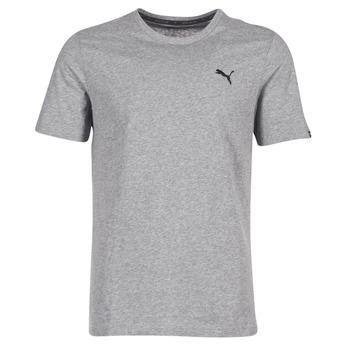 Oblačila Moški Majice s kratkimi rokavi Puma ESS TEE Siva