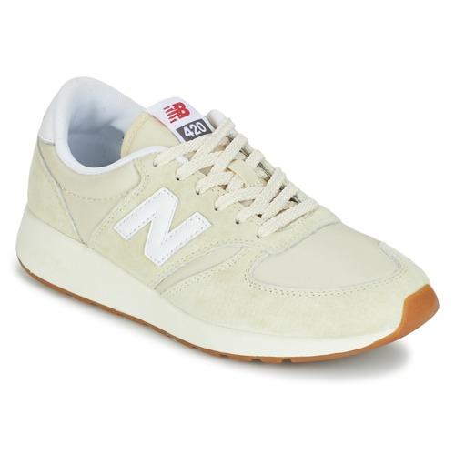 Čevlji  Ženske Nizke superge New Balance WRL420 Bež