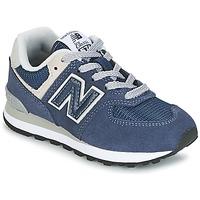 Čevlji  Otroci Nizke superge New Balance 574 Modra