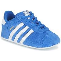 Čevlji  Otroci Nizke superge adidas Originals GAZELLE CRIB Modra