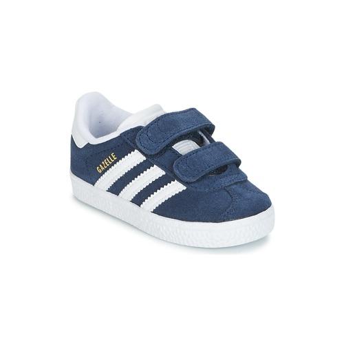Čevlji  Otroci Nizke superge adidas Originals GAZELLE CF I Modra
