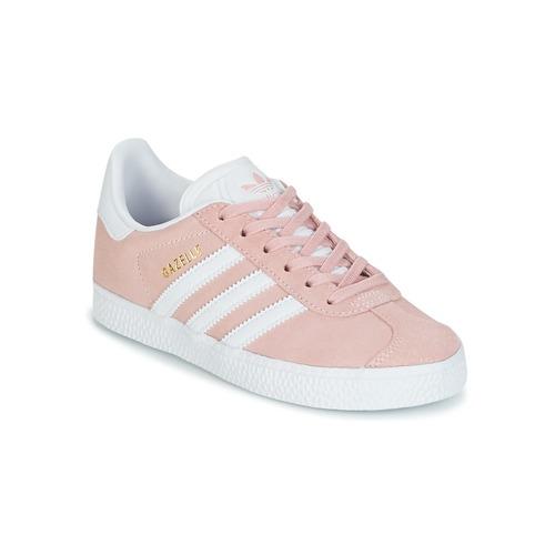 Čevlji  Deklice Nizke superge adidas Originals GAZELLE C Rožnata