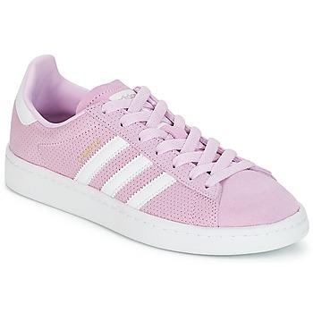 Čevlji  Deklice Nizke superge adidas Originals CAMPUS J Rožnata