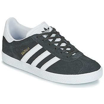 Čevlji  Otroci Nizke superge adidas Originals GAZELLE J Siva