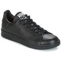 Čevlji  Otroci Nizke superge adidas Originals STAN SMITH J Črna