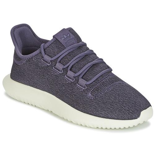 Čevlji  Ženske Nizke superge adidas Originals TUBULAR SHADOW W Vijolična