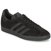 Čevlji  Moški Nizke superge adidas Originals GAZELLE Črna