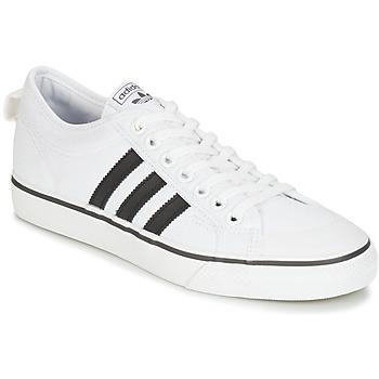 Čevlji  Nizke superge adidas Originals NIZZA Bela