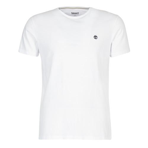Oblačila Moški Majice s kratkimi rokavi Timberland SS DUNSTAN RIVER CREW TEE Bela