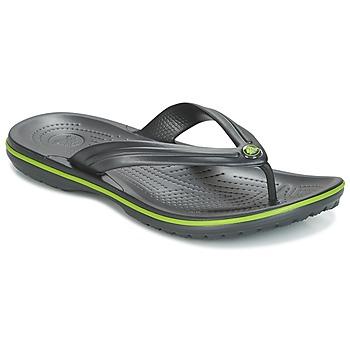 Čevlji  Japonke Crocs CROCBAND FLIP Črna / Zelena