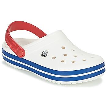Čevlji  Cokli Crocs CROCBAND Bela / Modra / Rdeča