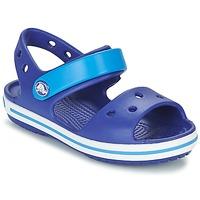 Čevlji  Dečki Sandali & Odprti čevlji Crocs CROCBAND SANDAL KIDS Modra