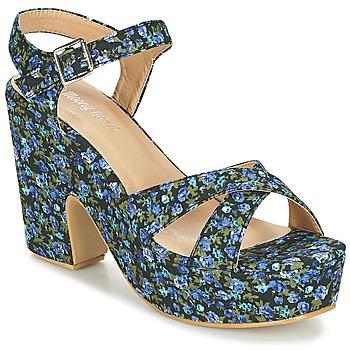 Čevlji  Ženske Sandali & Odprti čevlji Moony Mood INADA Modra