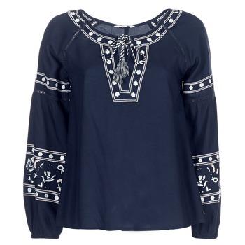 Oblačila Ženske Topi & Bluze Deeluxe BERTHA Modra