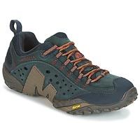 Čevlji  Moški Pohodništvo Merrell INTERCEPT Modra