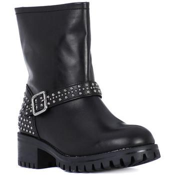 Čevlji  Ženske Mestni škornji    Frau TIBET NERO METAL Nero