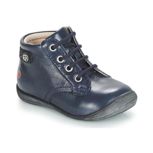 Čevlji  Deklice Polškornji GBB NICOLE Modra