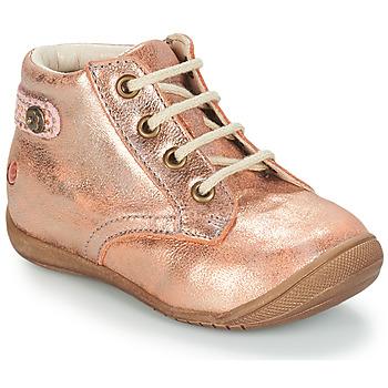 Čevlji  Deklice Polškornji GBB NICOLE Rožnata