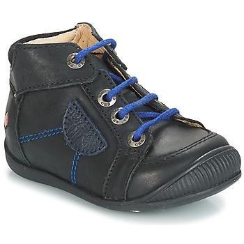 Čevlji  Dečki Polškornji GBB RACINE Črna
