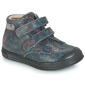 Čevlji  Deklice Visoke superge GBB RACHEL Siva