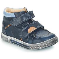 Čevlji  Dečki Visoke superge GBB ROBERT Modra