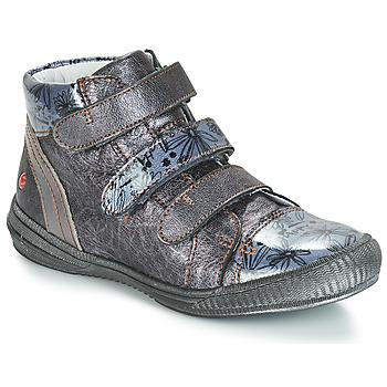 Čevlji  Deklice Visoke superge GBB RAFAELE Srebrna