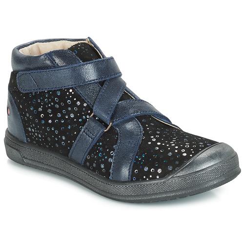 Čevlji  Deklice Visoke superge GBB NADEGE Modra