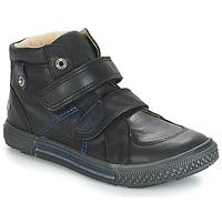 Čevlji  Dečki Visoke superge GBB RANDALL Črna