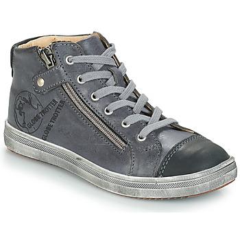Čevlji  Dečki Visoke superge GBB NICO Siva