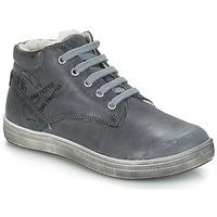 Čevlji  Dečki Mestni škornji    GBB NINO Siva