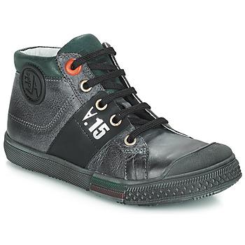 Čevlji  Dečki Visoke superge GBB RUFINO Siva