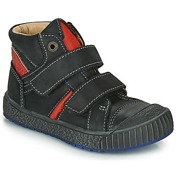 Čevlji  Dečki Visoke superge Catimini RAIFORT Črna / Rdeča