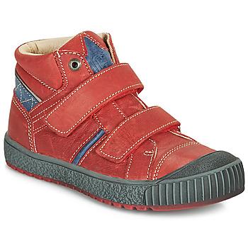 Čevlji  Dečki Visoke superge Catimini RAIFORT Rdeča