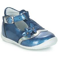 Čevlji  Deklice Balerinke GBB SELVINA Modra