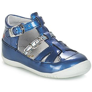 Čevlji  Deklice Sandali & Odprti čevlji GBB SARAH Vvn / Modra-print / Dpf / Kezia