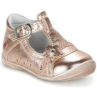 Čevlji  Deklice Balerinke GBB SIXTINE Rožnata / Zlata